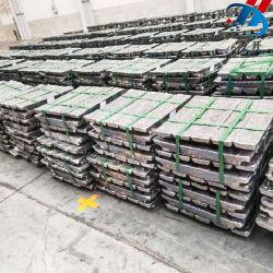 Los lingotes de aleación de plomo-antimonio pura venta con precio al por mayor