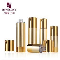 Luxury Rose Gold 15ml 30ml 50ml 80ml 100ml 100ml 120ml de soro de Embalagem Cosméticos Loção de plástico da bomba dispensadora vaso vazio
