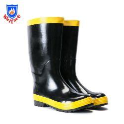 Placa de acero Anti-Piercing bomberos protectora de la botas de lluvia