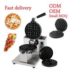 Goodoog Mini Donut Pancake Keuken verwisselbare plaat Roterende Lolly Snack Het maken van graafmachine huishouden Goedkope Elektrische commerciële Belgische Eierwafel Fabrikant