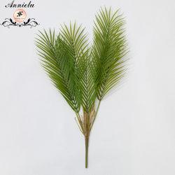 Folhas artificiais decorativos Folhas de Palmeira verde plantas artificiais