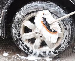 Lavage de voitures de la laine douce à poignée longue voiture balai Brosse télescopique produit spécial pour nettoyer la poussière de voiture Duster Outil de nettoyage