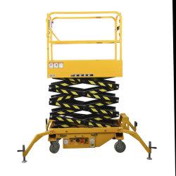 500kg商品上昇の構築機械装置のための移動式電気上昇表