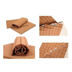 Superficie Gass adsorbida mixtos de madera corcho material de embalaje para Shock-Proof