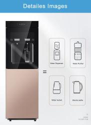 4단계 바닥 스탠딩 수직 핫/콜드 워터 쿨러 정수기