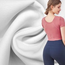 La poliamida y Spandex Tricot de Lycra elástica tejido desgaste Yoga