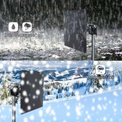 Усиленный цифровой HD для использования вне помещений HDTV, антенна UHF и VHF/FM-радио
