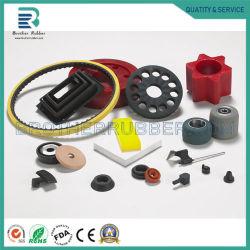 Kundenspezifisches hochwertiges alle Arten geformte Selbstgummiprodukt-Teile, Gummidraht-Verdrahtung durch Ring