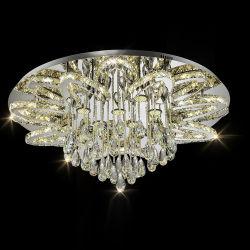 Modernos LED lámpara de araña de cristal decorativas de interior del hotel en el techo colgante colgante iluminación