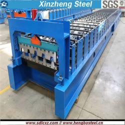 Macchina per la formatura di rotoli ondulati per lamiere d'acciaio ondulate