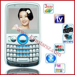 Handy Q10 3 SIM Karte Fernsehapparat-WiFi