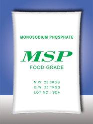 Fosfato monossódico msp para grau alimentício