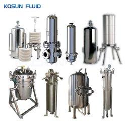 SS-Edelstahl-vor Beutel-Luftfilter-Gehäuse-Kassetten-lentikulares Wasser-Filtergehäuse/10 Zoll/Edelstahl-/Gehäuse-Filter-/Filtertüte-Gehäuse