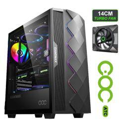 게임 케이스 ARGB 팬 스트립 컴퓨터 PC 케이스 MID 타워 Rtx3080 게이머