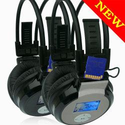 Cuffia avricolare del MP3 di sport con FM (WST-860)