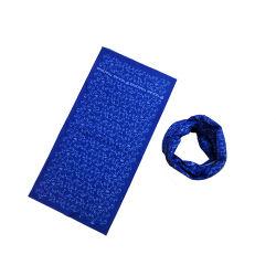 スクリーンはPaiselyによって印刷された継ぎ目が無いバンダナの100%年の綿織物のカスタマイズされた表面カバーをカスタマイズした