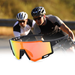 3 Lens Mountain Bike Bicycle Cycling Eyewear Custom 2012 New 디자인 PC 렌즈 스포츠 아이웨어