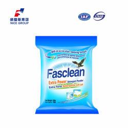 500g Venta caliente espuma rica Fasclean Potencia Extra detergente en polvo