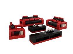 Модульный Домашняя мебель из натуральной кожи угловой диван в разрезе мебель