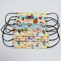 도매 En14683 형식 크리스마스에 의하여 인쇄되는 처분할 수 있는 아이 아기 가면 의무보급