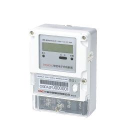 Compteur d'électricité électroniques Rail DIN électrique phase unique de l'énergie numérique