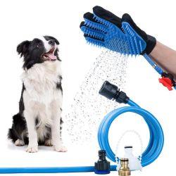 Petstar Bom Preço Qualidade Superior Luxury Professional Grooming Pet Pet da escova de aliciamento de luva da escova