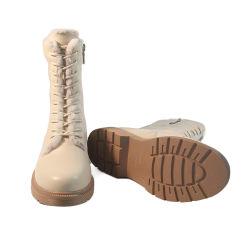 2020 Nouvelle arrivée dernière conception de l'hiver de façon étanche bottes bottes en cuir de vache pour les enfants de l'hiver