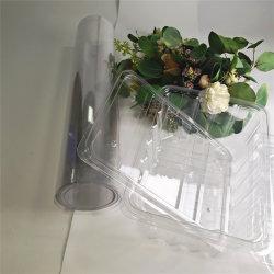 materiaal van de Verpakking van de Film van het Huisdier van de Film van de Rek van 0.35mm het Transparante en Stijve Dubbele Berijpte Plastic