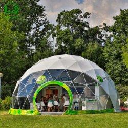 Het Kamperen van de luxe Geodetic Tent van de Koepel voor OpenluchtPartij/Gebeurtenissen wordt gebruikt die