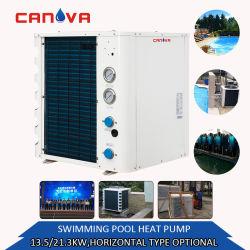 Dubai Hotel système de réchauffage de pompe à chaleur pour piscine avec une longue garantie