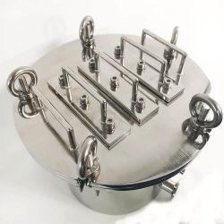 Sola o varias capas de filtros de extracción de hierro papilla removedor de hierro, tubo de Chocolate Tipo de removedor de hierro