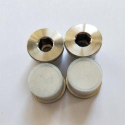 """1.4301 A2 SS304 DIN908 G 3/4 """" 관 이음쇠의 플랜지가 붙은 육각형 소켓 나사"""