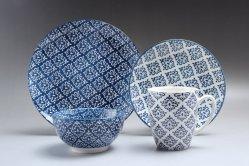 リンイーJingshiの陶磁器の罰金16PCEの陶磁器のディナー・ウェアの磁器テーブルウェアは低価格とセットした