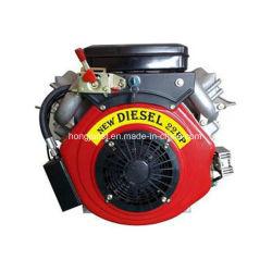 4 ход поршня с водяным охлаждением воздуха 22HP V парных дизельного двигателя для генератора газоне косилка двигателя