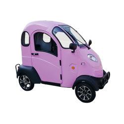 Elektrische auto met groot vermogen op vier wielen