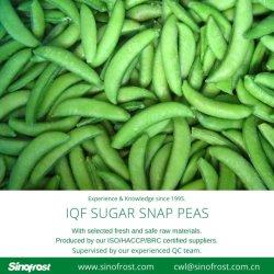 New Crop, IQF Frozen Sugar Snap Peas, IQF Sugar Snap Pea, Frozen Sugar Snap Peas, IQF Sugar Snap Peas, IQF Sweet Beans, Frozen Food, Frozen Vegetables, IQF Food