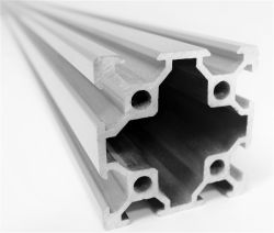 Kühlkörper-Lieferanten-Schrank-Aluminiumprofil-Gebäude-Bahnzaun für Gewebe-Koffer-Teile