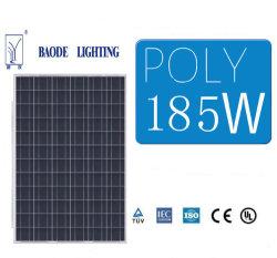185W 고효율 태양전지 PV 패널 모듈