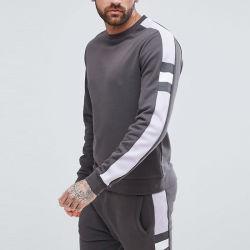Comercio al por mayor ropa de algodón Deporte Gimnasio nuevo estilo de la llegada de los hombres emparejador de trajes de sudor
