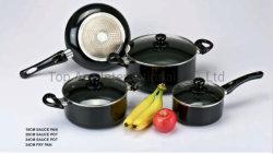 남비 알루미늄 붙지 않는 취사도구 세트를 요리하는 취사 도구 7PCS