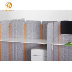 Pet à prova de mobiliário de escritório ecrã acústico
