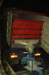 粉を運ぶためのPPの容器はさみ金袋の乾燥したバルクはさみ金