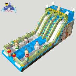 Надувные Bouncer Lilytoys слайд, прыжком слайд, Парк Развлечений оборудование аттракционы