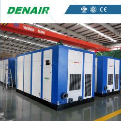 0.5-80 M3/min 6-40 bar 5.5-400 Kw AC industriels fixes de l'alimentation électrique entraînée par prise directe des compresseurs rotatifs à vis avec l'ISO, CE, l'approbation du GC