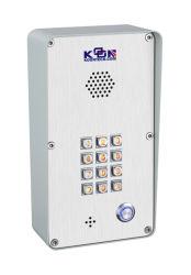 Porta Intercomunicador VoIP IP Phone telefone de emergência Controle de Acesso Sem Fio