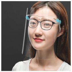 [فسشيلد] واضحة بلاستيكيّة قابل للاستعمال تكرارا مع زجاج إطار صناعيّ واقية [سون] مضادّة ضباب [فس شيلد]