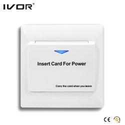 Hotel Sistema de Poupança de Energia do interruptor de parede Cartão Chave de RFID