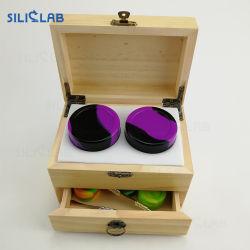 Silicone/contenitore di fumo di legno del tabacco/cera/olio dello strumento di Dabber degli accessori