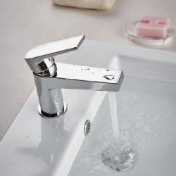 Эко дизайн водосбережения одиночный рычаг одно отверстие раковины под струей горячей воды бассейна струей заслонки смешения воздушных потоков