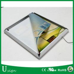 Snap Frame Photo Poster Mural LED pour la publicité